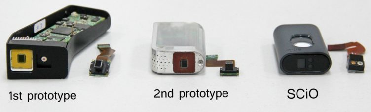 SCiO - prototypy