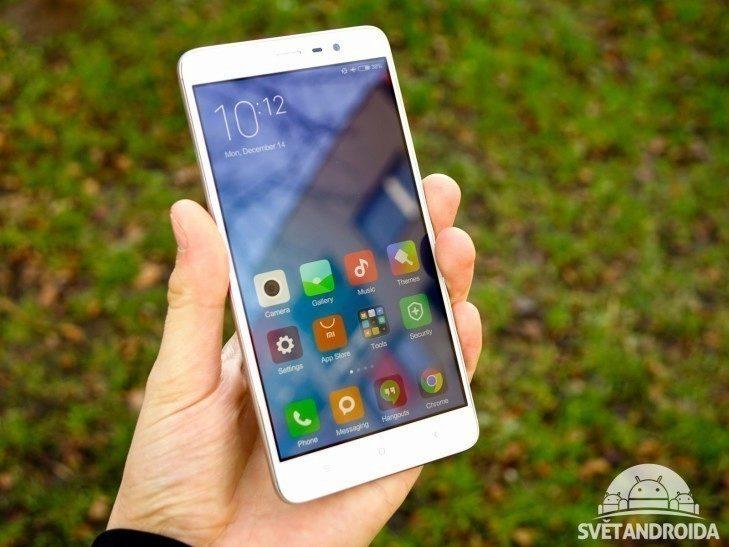 Xiaomi Redmi Note 3 - konstrukce, držení