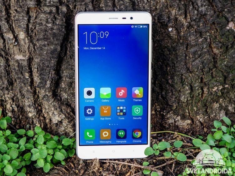 Xiaomi Redmi Note 3 - konstrukce, přední část telefonu (3)