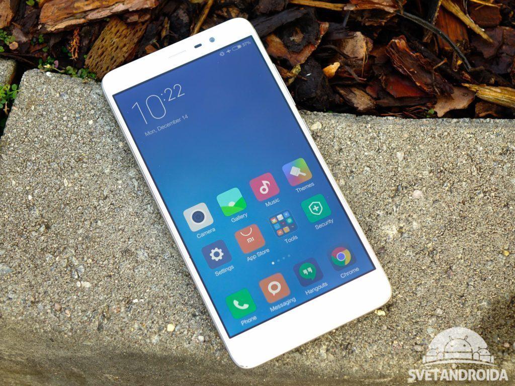 Xiaomi Redmi Note 3 - konstrukce, přední část telefonu (7)