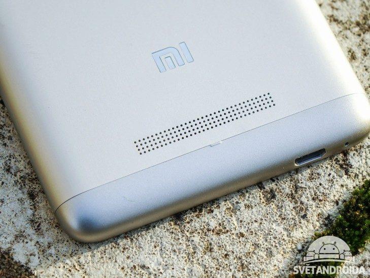 Xiaomi Redmi Note 3 - konstrukce, reproduktor