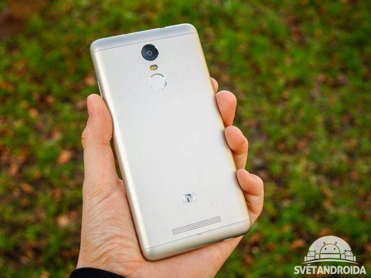 Xiaomi Redmi Note 3 - konstrukce, zpracování