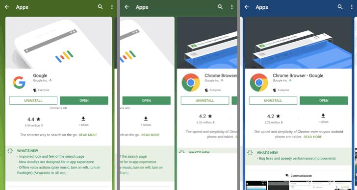 Obchod Google Play přichází s novým vzhledem výsledků vyhledávání