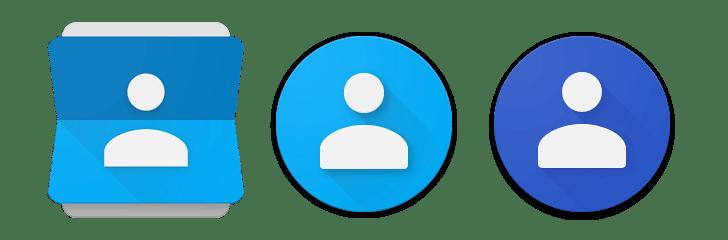 Změna ikony aplikace (poslední verze je vpravo)