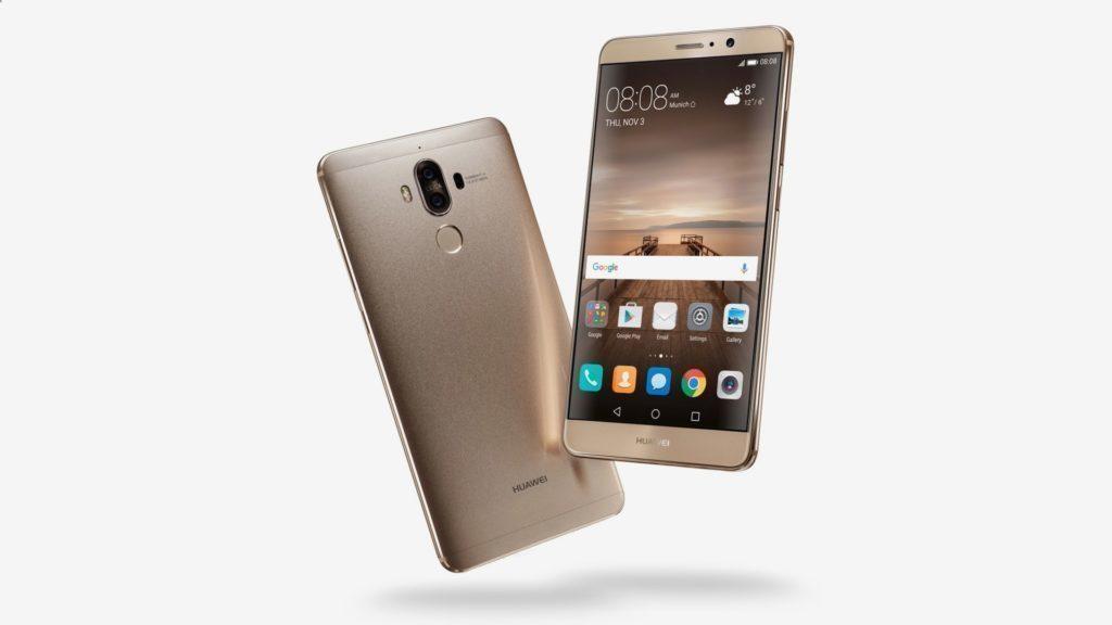 Huawei Mate 9 je prvním telefonem čínského výrobce, který jde z výroby rovnou s Androidem 7.0 Nougat