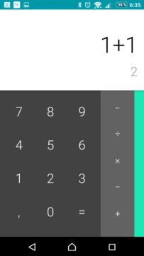 Kalkulačka Google v nové verzi