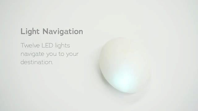 Navigaci obstarává 12 LED