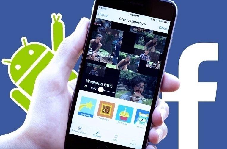 Aktualizace Facebooku – Slideshow – náhleďák