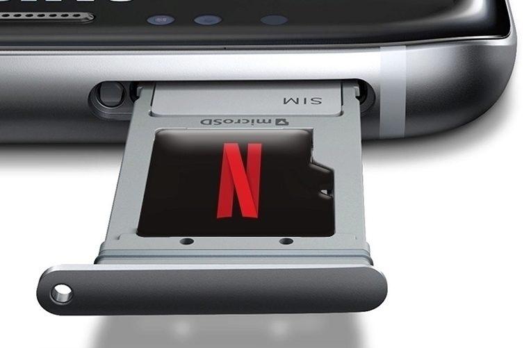 Aplikace Netflix – MicroSD – náhleďák
