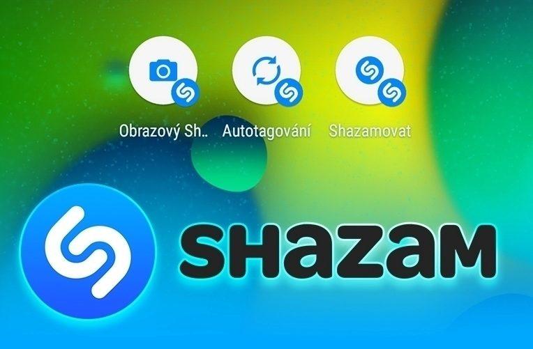 Aplikace Shazam