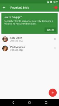 CallBlock - Blokování hovorů