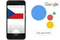 Google Assistant umí česky