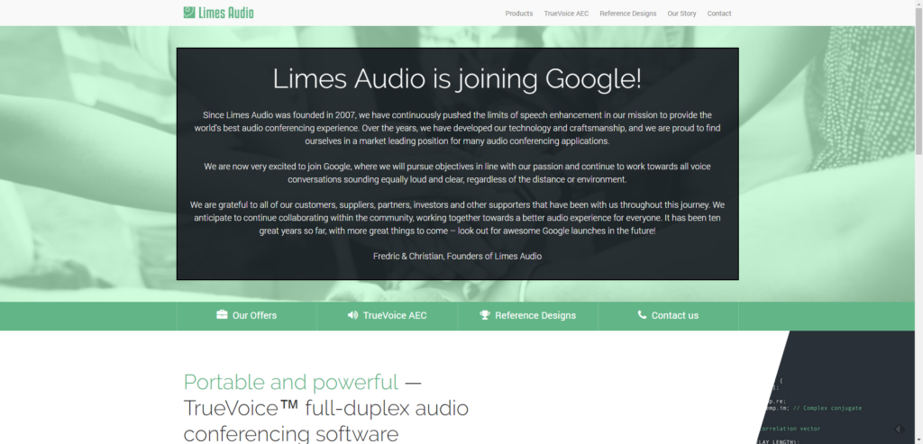 Společnost Limes Audio oznámila novinku na svém webu