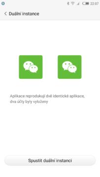 Nubia Z11 dualní app