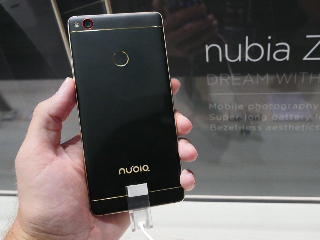 Nubia z11 Gold 2