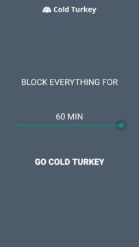 Maximální čas je 60 minut