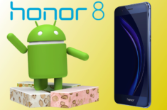 Telefon Honor 8 Nougat