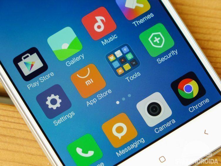 Xiaomi Redmi 3 - displej, barvy