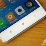 Xiaomi Redmi 3 – konstrukce, senzorová tlačítka