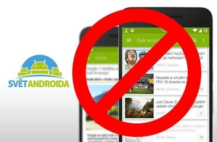 aplikaci Svět Androida
