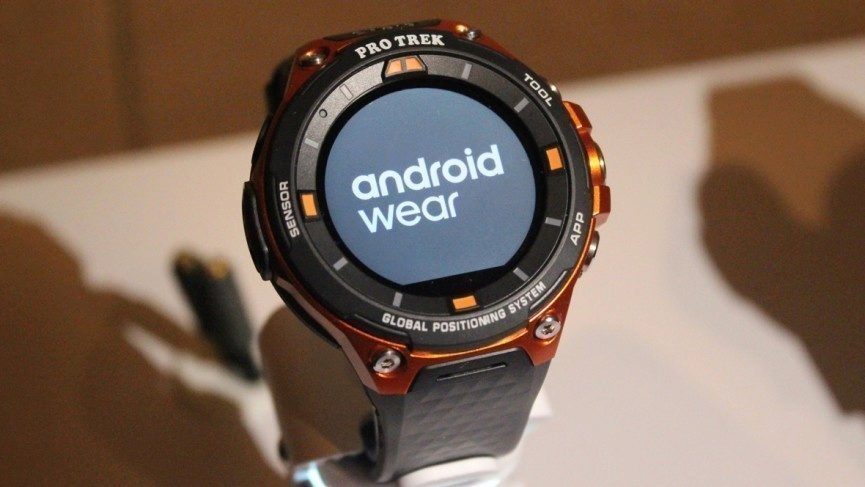 Chytré hodinky Casio WSD-F20