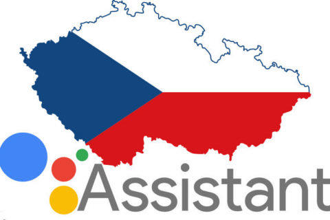 google assistant cestina