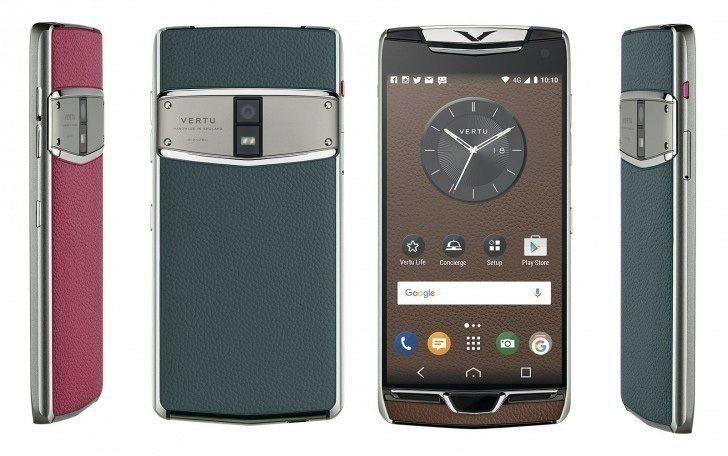 Luxusní telefon Vertu Constellation míří na nejbohatší klientelu