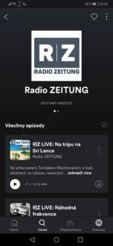 spotify podcast radio zeitung