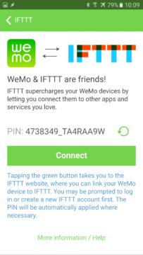 wemo-belkin-parovani-ifttt-3