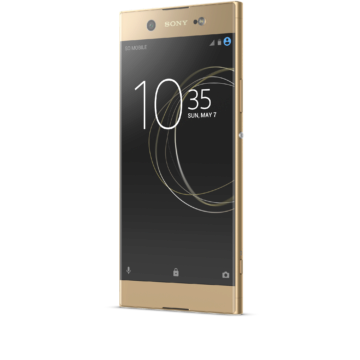03_Xperia_XA1_Ultra_gold_front_angled_left