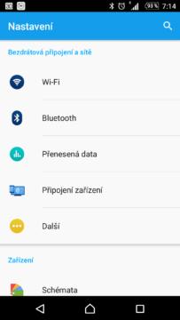 V sekci Bluetooth