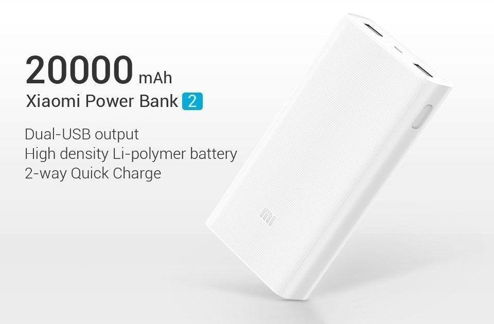 5 tipu na zbozi z cinskych obchodu – Xiaomi Mi Powerbank 2