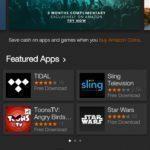 Amazon Fire Phone – Výchozí obchod s aplikacemi