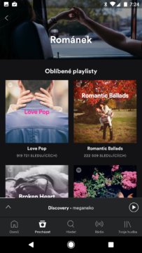 Den sv. Valentýna – Spotify 2