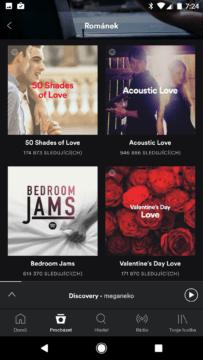 Den sv. Valentýna – Spotify 3