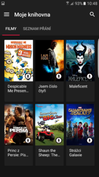 Google Play Movies – tmavé téma (3)