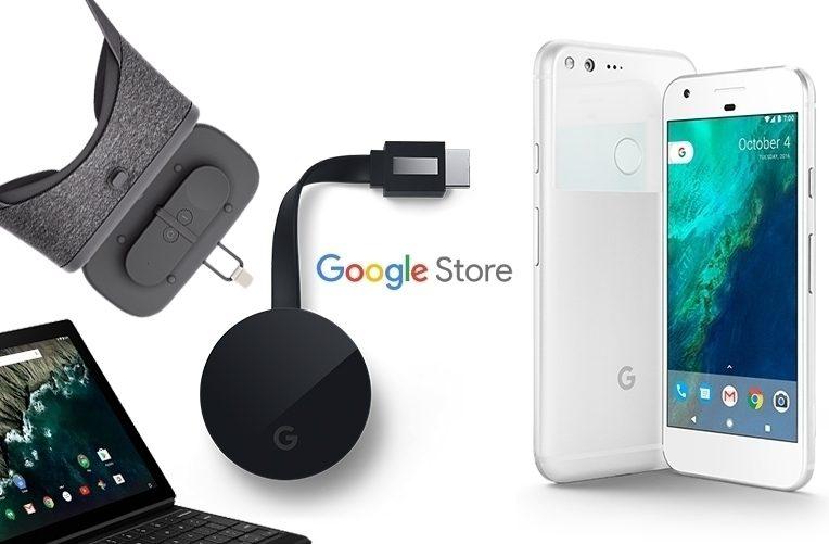 Google Store – náhleďák