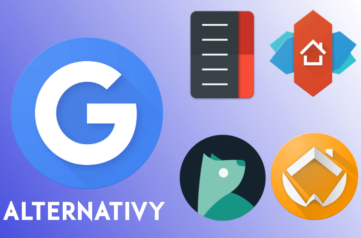 Google launcher alternativy nahled