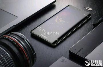 Huawei P10 Plus – ležící