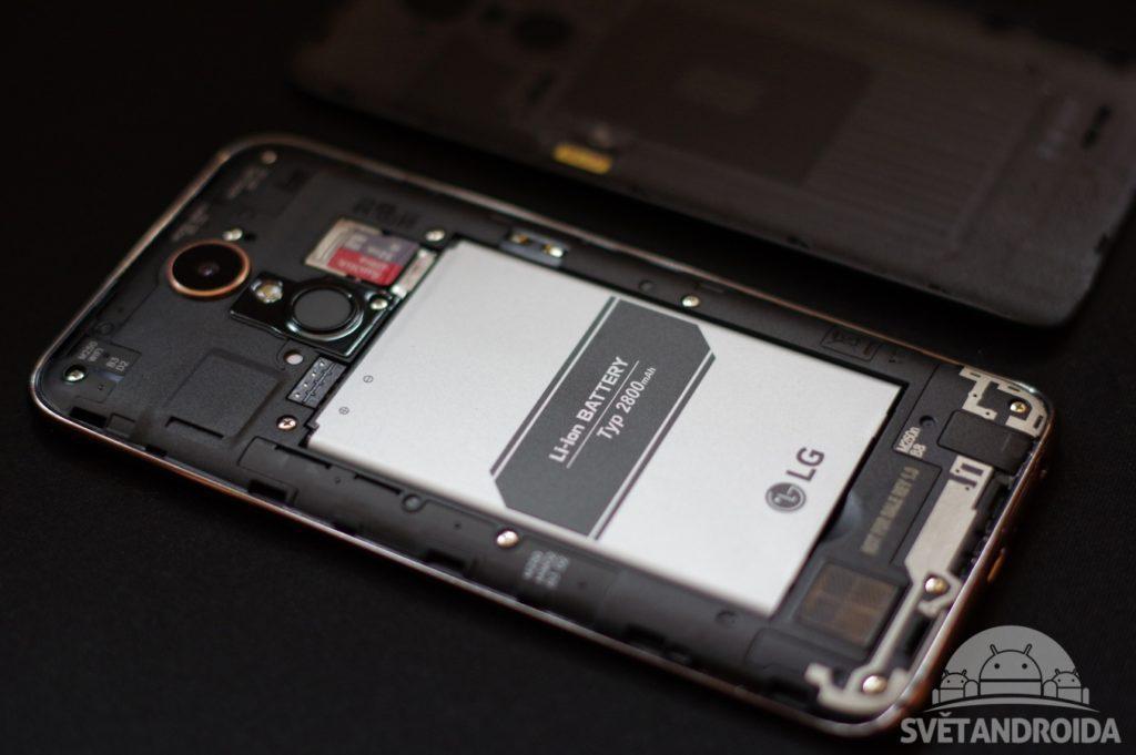 LG K10 (2017) baterie