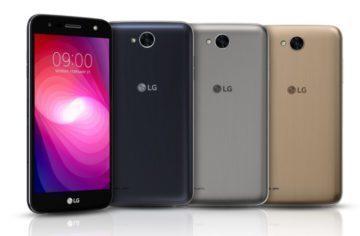 Telefon LG X Power 2 představen. Nabídne velkou baterii