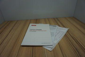 Lenovo Phab 2 manualy
