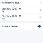 Neato Botvac Connected - aplikace, nastavení vysavače (3)