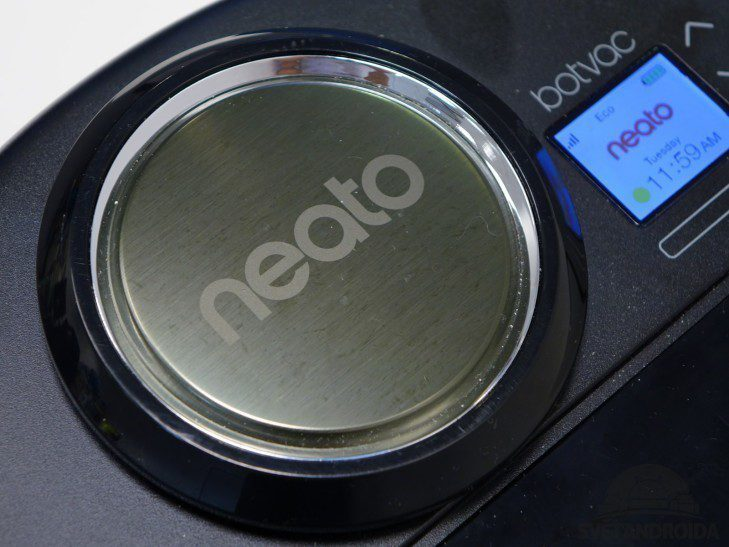 Neato Botvac Connected - konstrukce, botvision
