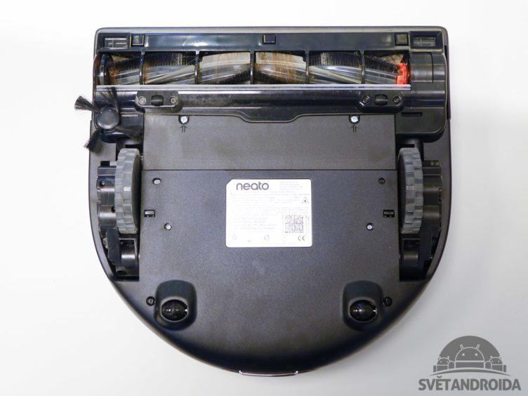 Neato Botvac Connected - konstrukce, podvozek