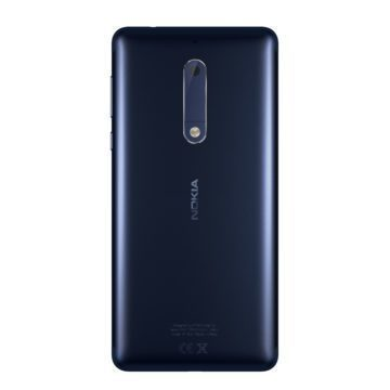 Nokia 5 Tempered Blue back