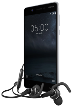 Nokia 5 with Nokia Sport Headset WH-501