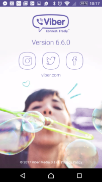 Viber v nové verzi 6.6