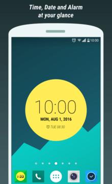 Touch Circle Clock Wallpaper 1_1