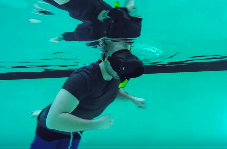 Virtuální realita pod vodou